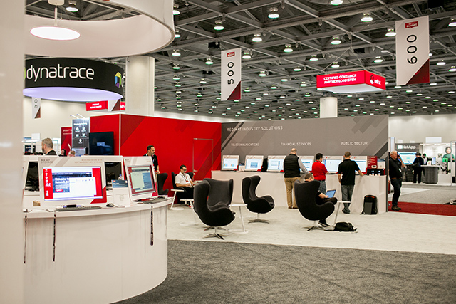 The Red Hat Booth at Summit 2018