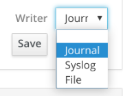 Set persistent storage for journal