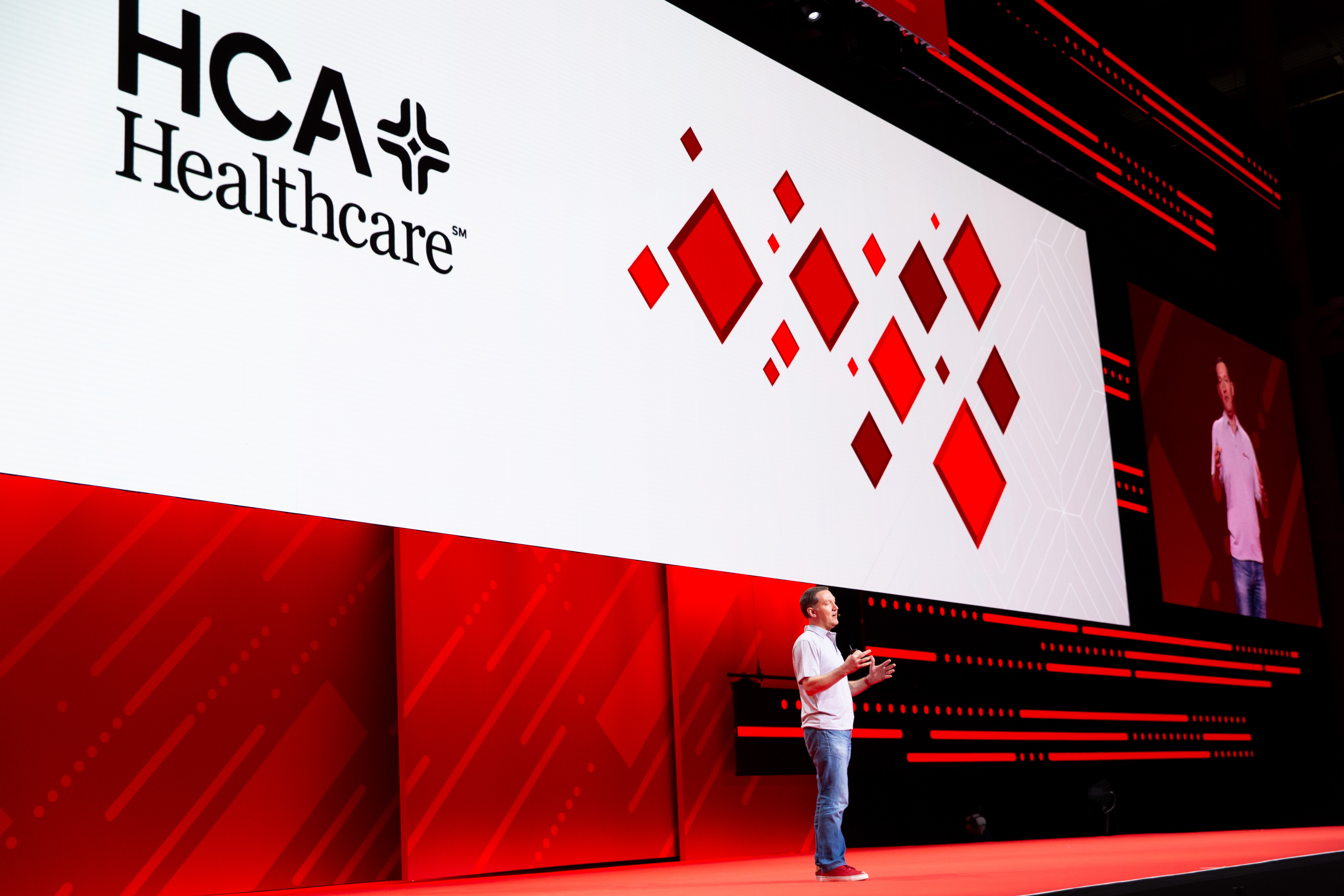 HCA Healthcare at Red Hat Summit General Session