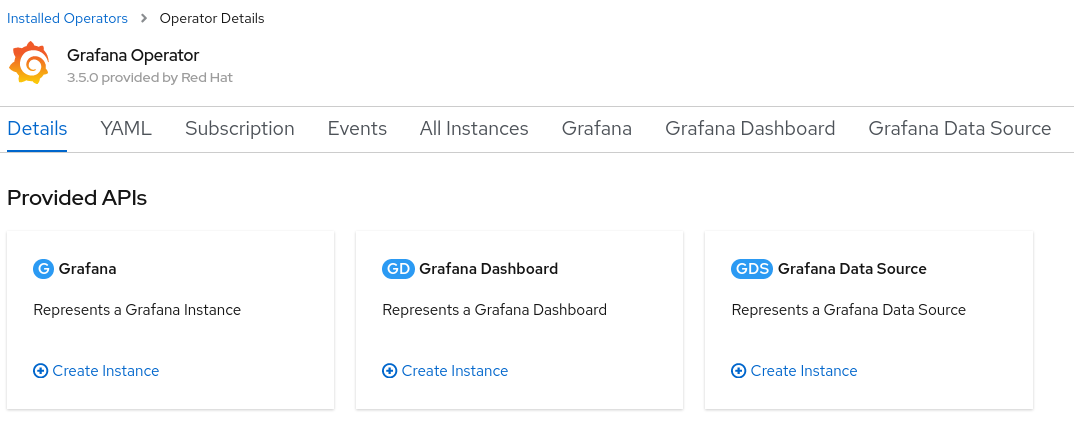 Figure 2: Grafana