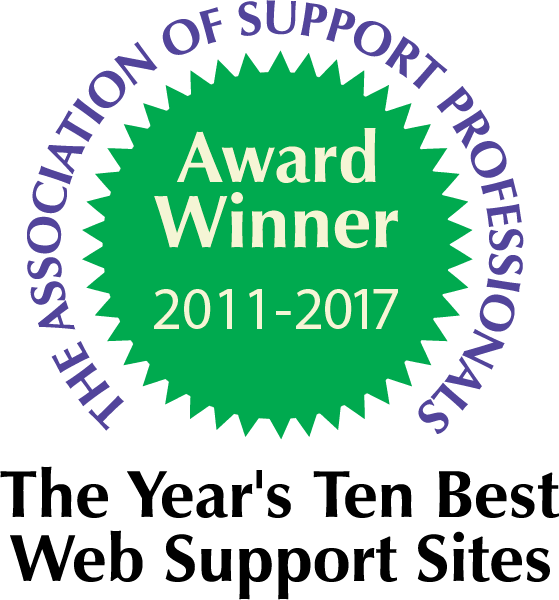 Association of Support Professionals Award 2011-2017