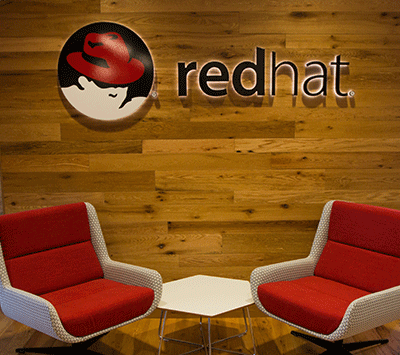 Red Hat Boston Lobby