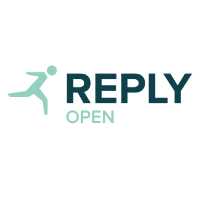 Reply open logo