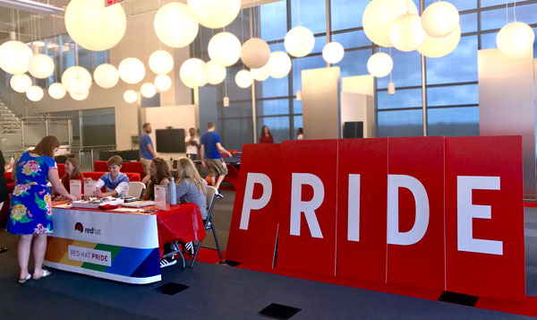 Red Hat Pride 2017