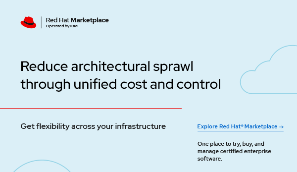 How to reduce architectural sprawl through unified management and control