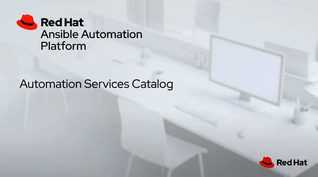 Learn more about the automation services catalog