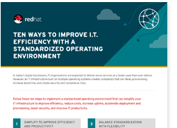 10-step guide to standardizing your operating environment