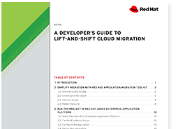 A developer's guide to lift-and-shift cloud migration