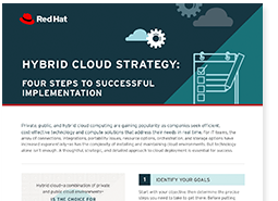 Checklist strategia cloud ibrido