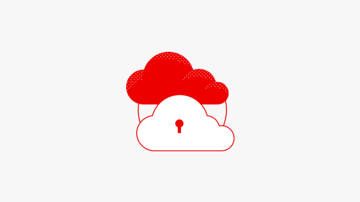 cloud native security icon