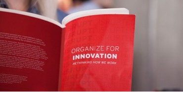 Organize for innovation cover shot