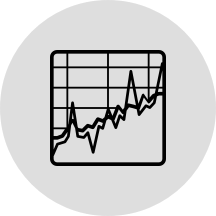 Icon representing business modeling
