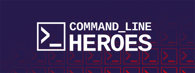 Command Line Heroes background