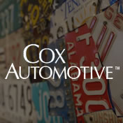Cox logo on image of license plates