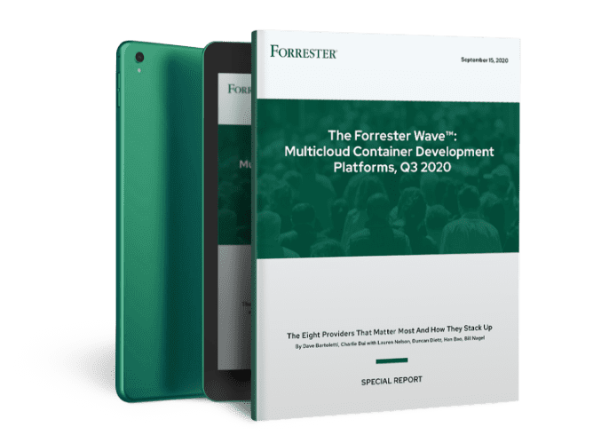 The Forrester Wave: Multicloud Development Platforms, Q3 2020 Report
