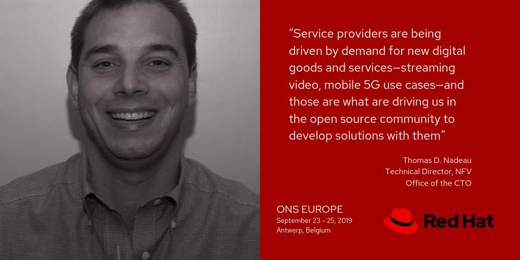 """Service providers are being driven by demand for new digital goods and services"" quote - Thomas D. Nadeau"