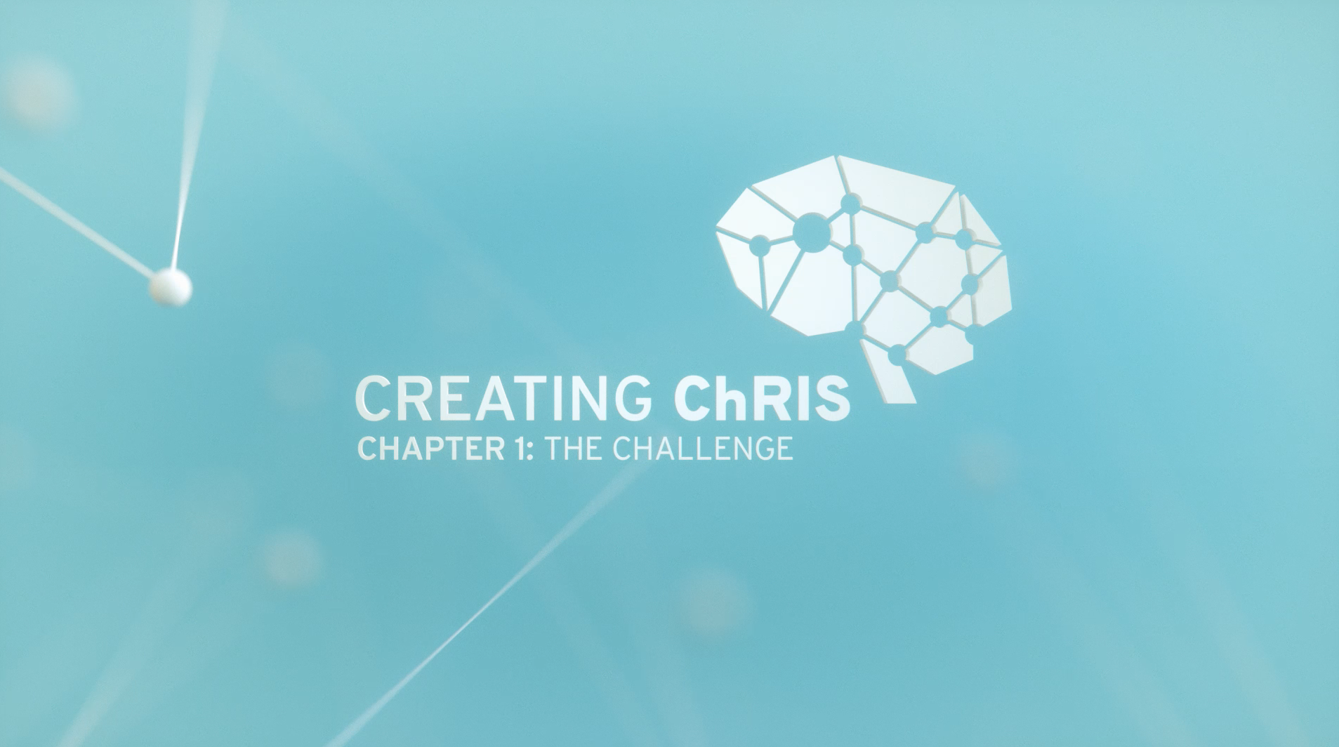 Title sequence for Creating ChRIS chapter 1
