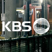 KBS logo on image of street