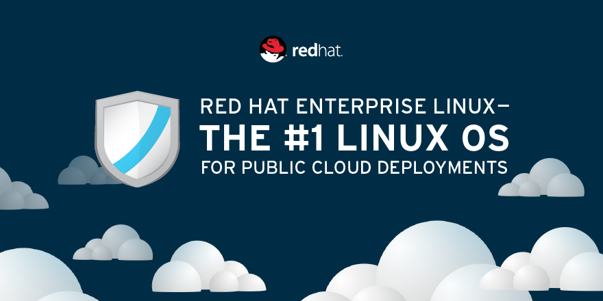 Red Hat Enterprise Linux is the #1 Commercially-Supported Linux Operating System in the Public Cloud
