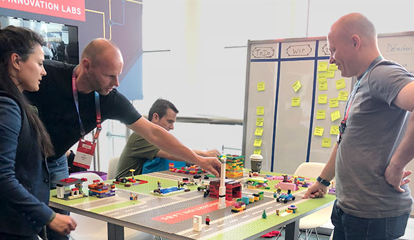 Lego Challenge at Red Hat 2018 Summit