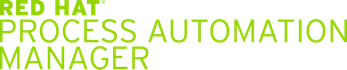 Red Hat Process Automation Manager logo