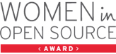 Women in open source award logo