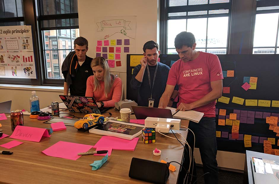 Open Innovation Labs code review