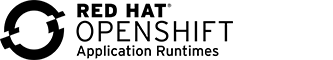 Red Hat OpenShift Application Runtimes Black and White Logo