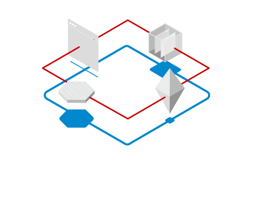 Illustration of Red Hat's AMQ product