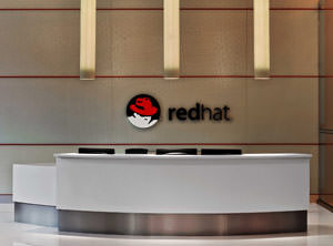 Interior shot of Red Hat Tower's main lobby