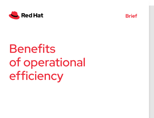benefits of operational efficiency