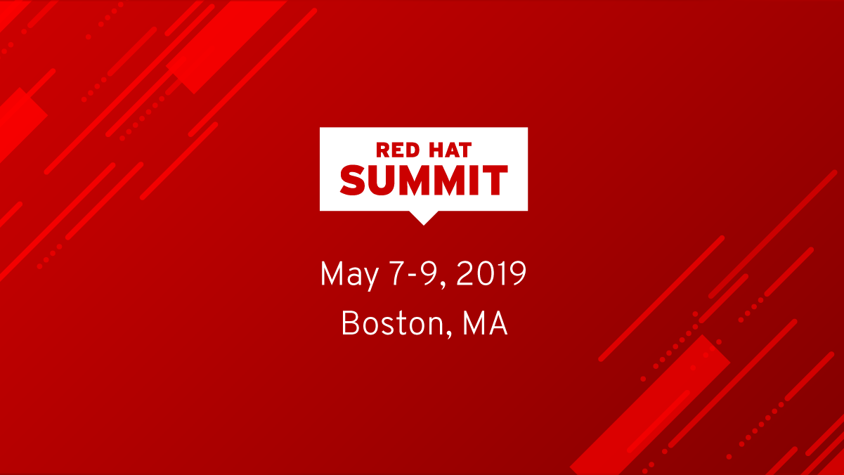 Home | Red Hat Summit 2019