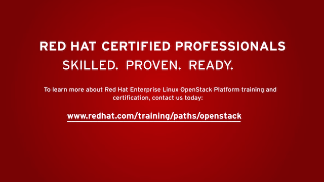 Red Hat Enterprise Linux OpenStack Platform