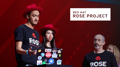 Red Hat Rose project image