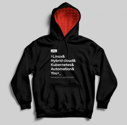 Red Hat Summit hoodie