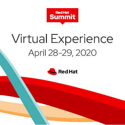 Red Hat Summit Virtual Experience 2020 logo
