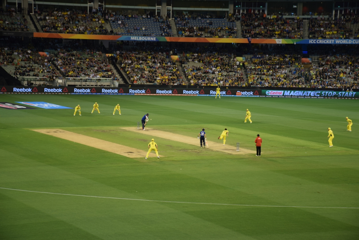 """CWC Aus v Eng at the MCG"", Creative Commons Copyright Tourism Victoria."