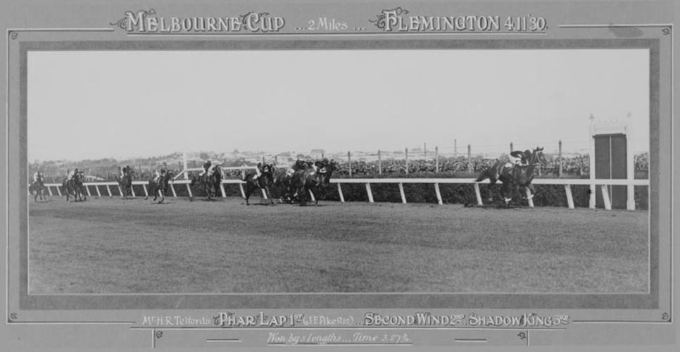 framed-photograph-phar-lap-winning-melbourne-cup-1930-250974-small