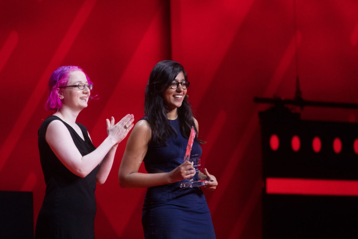 Women in Open Source Award winners: Limor Fried and Saloni Garg