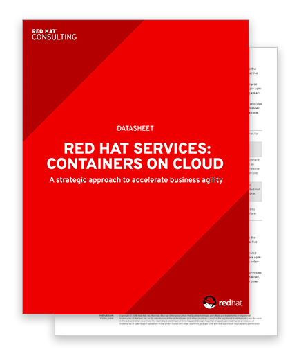 Datasheet: Container on cloud