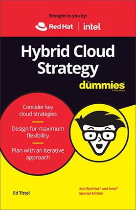 Hybrid Cloud Strategy for Dummies Cover Photo
