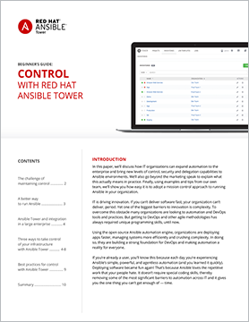 Whitepaper Control with Ansible Tower