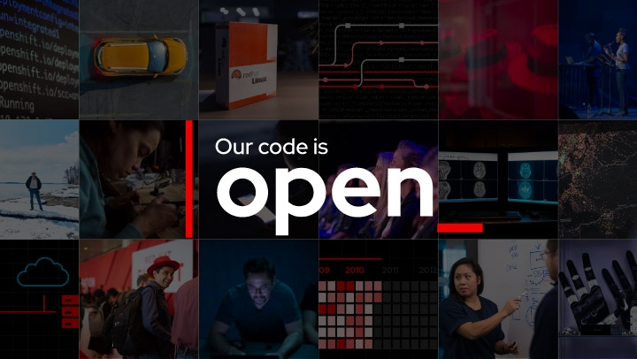 our code is open