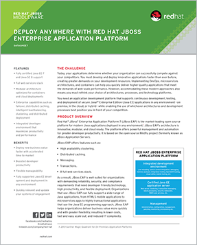 deploy anywhere with Red Hat