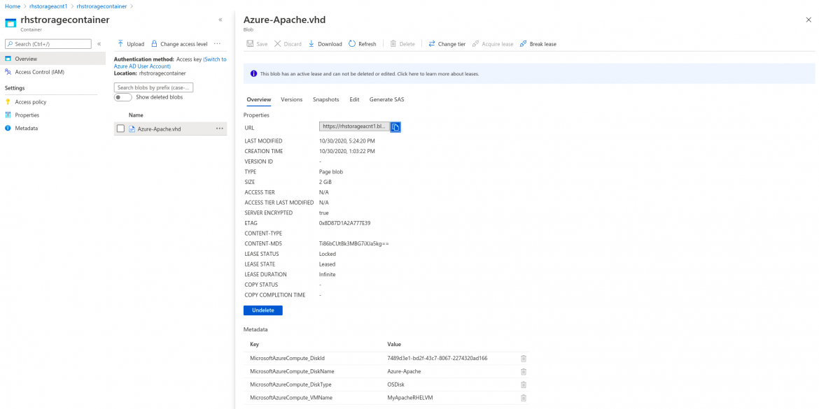 Deploying to the Azure cloud Image Builder 9