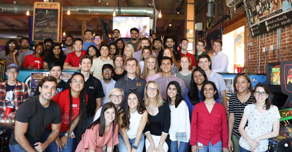 Red Hat Raleigh's 2019 class of interns