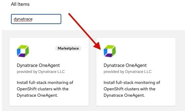 Dynatrace OneAgent Operator