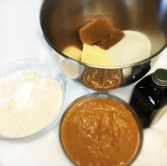 Ingredients for recipe