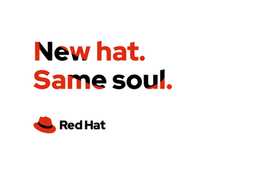 Use of Red Hat red in product promo banner