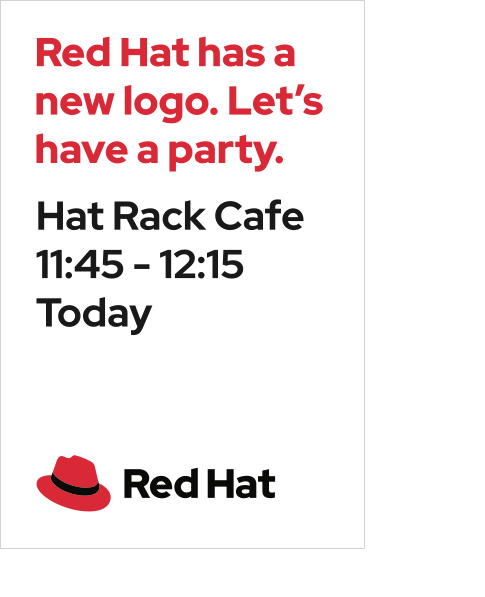 Red Hat Display sample